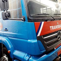 Plotagem de Caminhão para Empresa em São Paulo - Transbahia