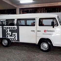 Plotagem de Veículo para Empresa - Kombi