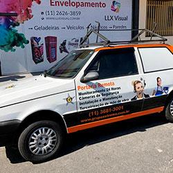 Plotagem parcial de veículo para empresa em São Paulo - Osasco - Grupo Extrema
