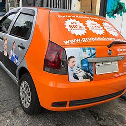 Envelopamento de veículo para empresa em Osasco - Grupo Extrema