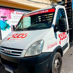 Envelopamento - Plotagem de cabine - Caminhão - São Paulo