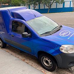 Plotagem de Fiorino para empresa em São Paulo