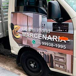 Envelopamento - Plotagem de HR para empresa em São Paulo