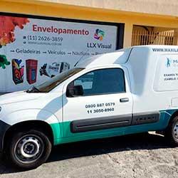 Plotagem de Veículo para empresa em São Paulo - Maxlabor