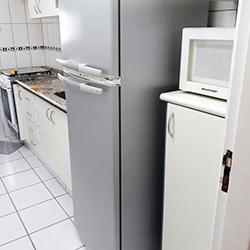 Envelopamento de geladeira duplex com Aço Escovado em SP