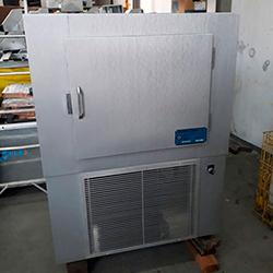Envelopamento de freezer com Aço Escovado