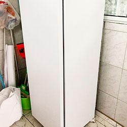 Envelopamento de freezer com branco fosco - Cotia - São Paulo