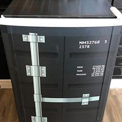 Envelopamento de frigobar - MSC