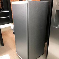 Envelopamento de geladeira com Aço Escovado - Osasco - SP