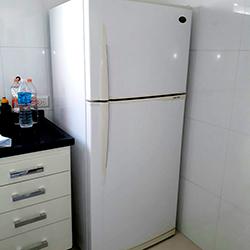 Envelopamento de geladeira Branco