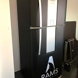 Envelopamento de geladeira para empresa - São Paulo