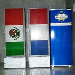 Envelopamento de geladeiras San Martin