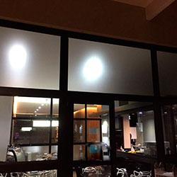 Adesivo jateado para janela de empresa em São Paulo