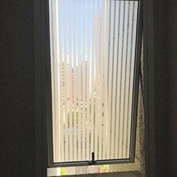 Aplicação de adesivo jateado para janela banheiro - São Paulo