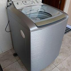 Envelopamento de máquina de lavar roupa com inox