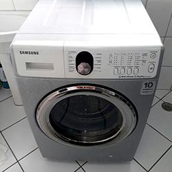 Envelopamento de máquina de lavar roupa  com Aço Escovado em SP