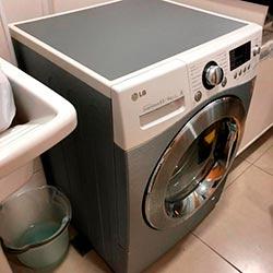 Envelopamento de máquina de lavar roupas com aço escovado - Tamboré - Alphavilla