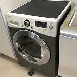 Envelopamento de máquina de lavar roupa com Cinza Chumbo - São Paulo