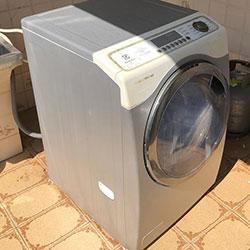 Envelopamento de máquina de lavar roupas com aço escovado/inox - Diadema - SP