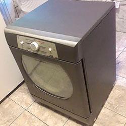 Envelopamento de máquina de lavar roupas com aço escovado - São Paulo