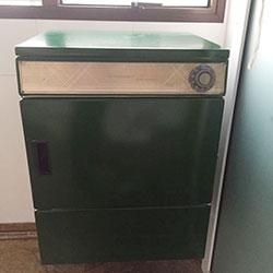 Envelopamento de máquina de lavar roupa com cor - Verde