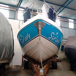 Adesivagem de barco para SP