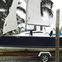 Envelopamento de veleiro em Mairinque